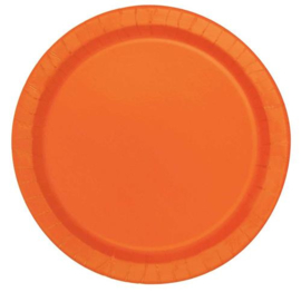 Oranje- Bordjes