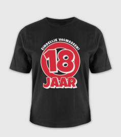 T-shirt- 18 jaar