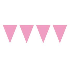 Baby- Vlaglijn XL roze