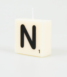 Letterkaars- N