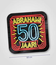 Neon- Schild Abraham