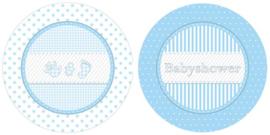 BS- Bordjes blauw