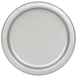 Zilver- Bordjes