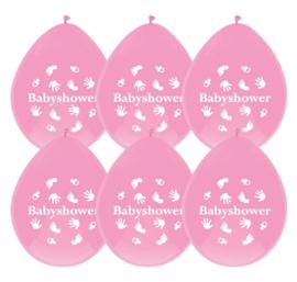BS- Ballonnen roze