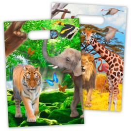 Safari- Uitdeelzakjes