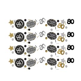 Gold 80 confetti