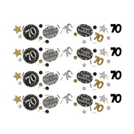 Gold 70 confetti