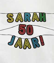 Neon- Letterslinger Sarah