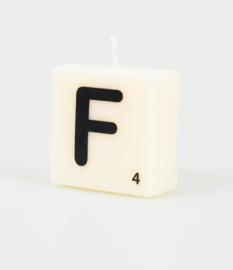 Letterkaars- F