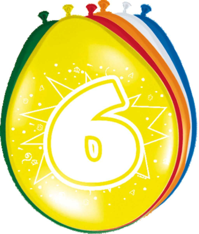 Ballonnen- 6 jaar