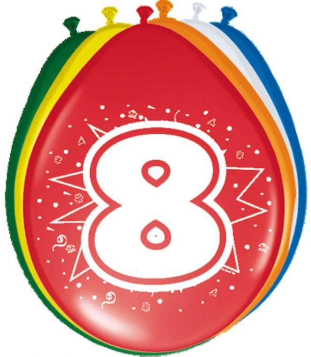 Ballonnen- 8 jaar