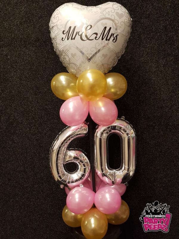 Luxe Tafeldecoratie- 60 jaar getrouwd