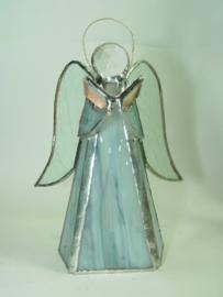 Tiffany engel grijs blauw