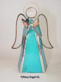 Tiffany engel blauw
