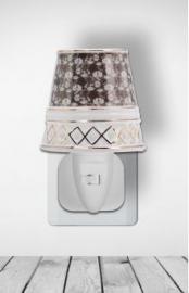 500155 Nachtlampje van porselein