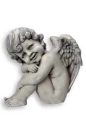 700940 Engel met vleugel rechts