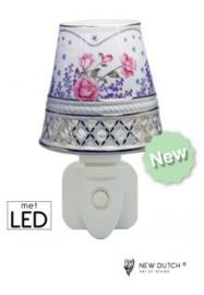 500165 porseleinen nachtlampje met LED