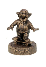 200937 beeldje Abraham bronskleurig