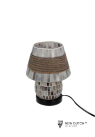 700840 Mozaïek glas lamp