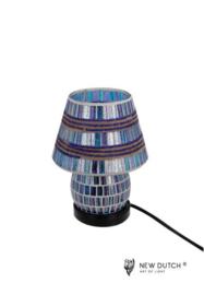 700841 Mozaïek glas lamp