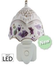 500170 Porseleine nachtlampje met LED