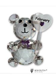 Geluksbeertje maand Februari