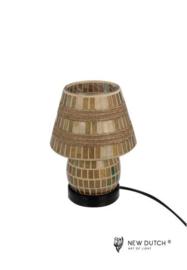 700838 Mozaïek glas lamp