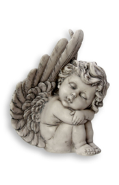 700930 Engel in vleugel links