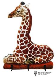 7025 Wildlife Giraffe kapstok voor kinderen.