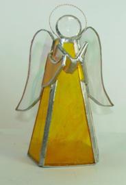 Tiffany engel geel/honig