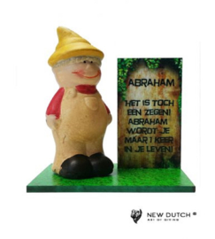 """700656 Abraham beeldje """"Het is toch een zegen"""""""