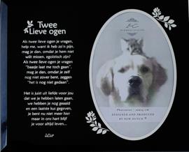 7041 Fotolijst in Memoriam voor dieren.
