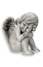 700939 Engel met vleugel links.
