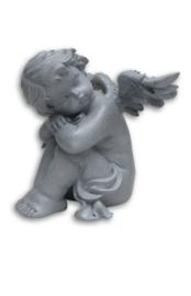 700953 engel zittend rechts ( geschikt voor buiten )