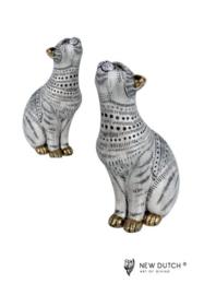 300426 Set katten in modern design