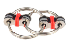PT-040 Fidget ring kleur Rood