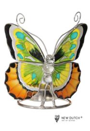 500245 Tiffany wachinelicht houder Vlinder