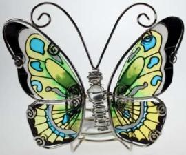500275 Tiffany vlinder waxhouder