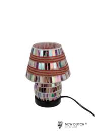 700843 Mozaïek glas lamp