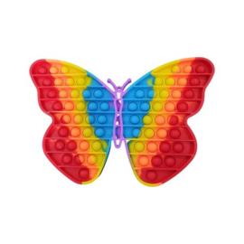XL Rainbow PopiT vlinder GROOT 30cm