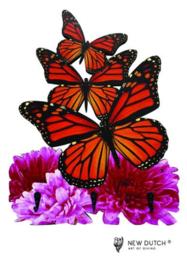 7022 Wildlife Vlinder Kapstok voor kinderen.