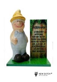 """700657 Abraham beeldje """"Je behoort misschien"""""""