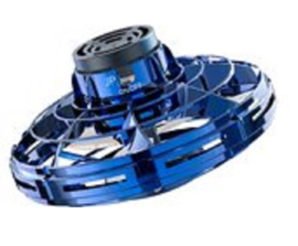 Mini drone - Flying spinner- flaying toy kleur blauw
