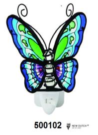 500102 Vlinder nachtlampje