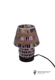 700842 Mozaïek glas lamp
