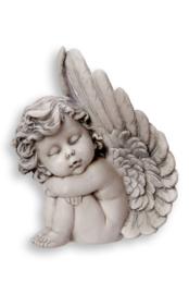 700931 Engel in vleugel rechts