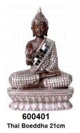 600401 Thaise Boeddha zittend 21cm