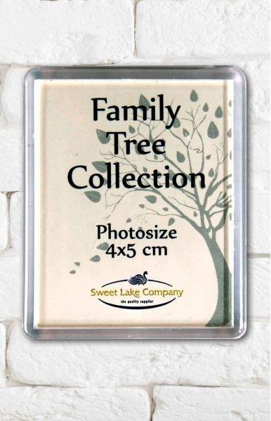 740   Losse magneet fotolijstjes voor familie stamboom