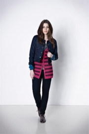Veto jeansjack - donkerblauw
