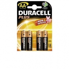 Battery Duracell LR06 Plus AA (4)